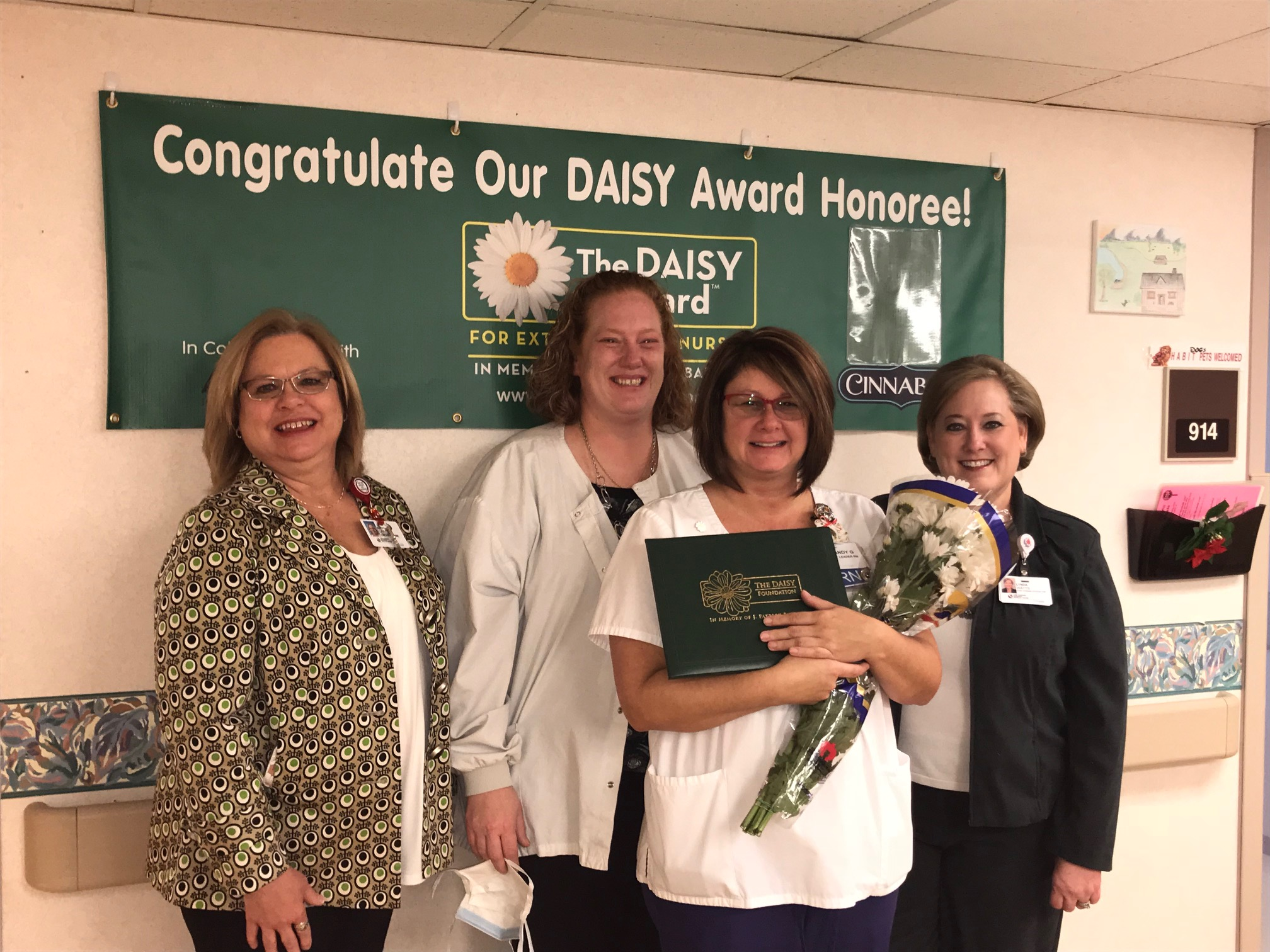 Brandy Garland, an RN and shift leader in Fort Sanders Regional's Transitional Care Unit is the recipient of our November DAISY award.