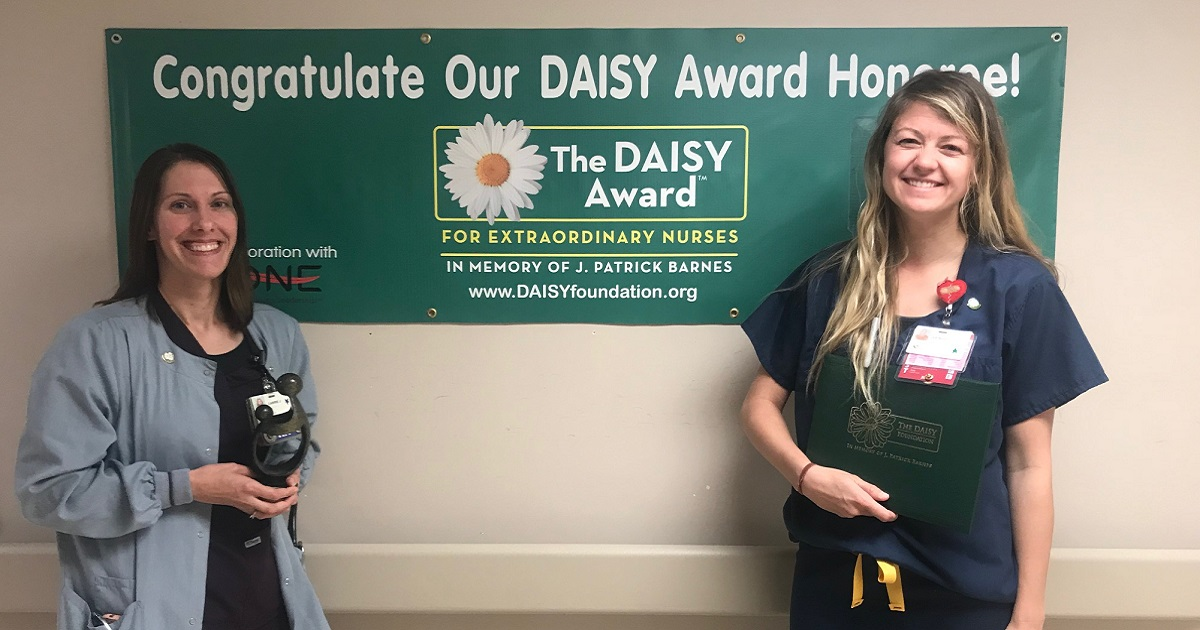 August DAISY Award Winner – Erin Lyons and Carrie Jinks