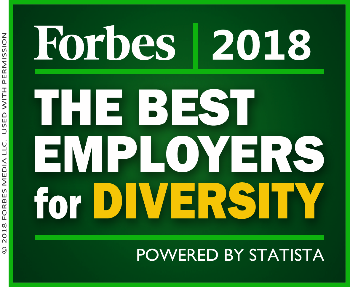 Covenant Health has been named one of America's Best Employers for Diversity for 2018 by Forbes magazine.