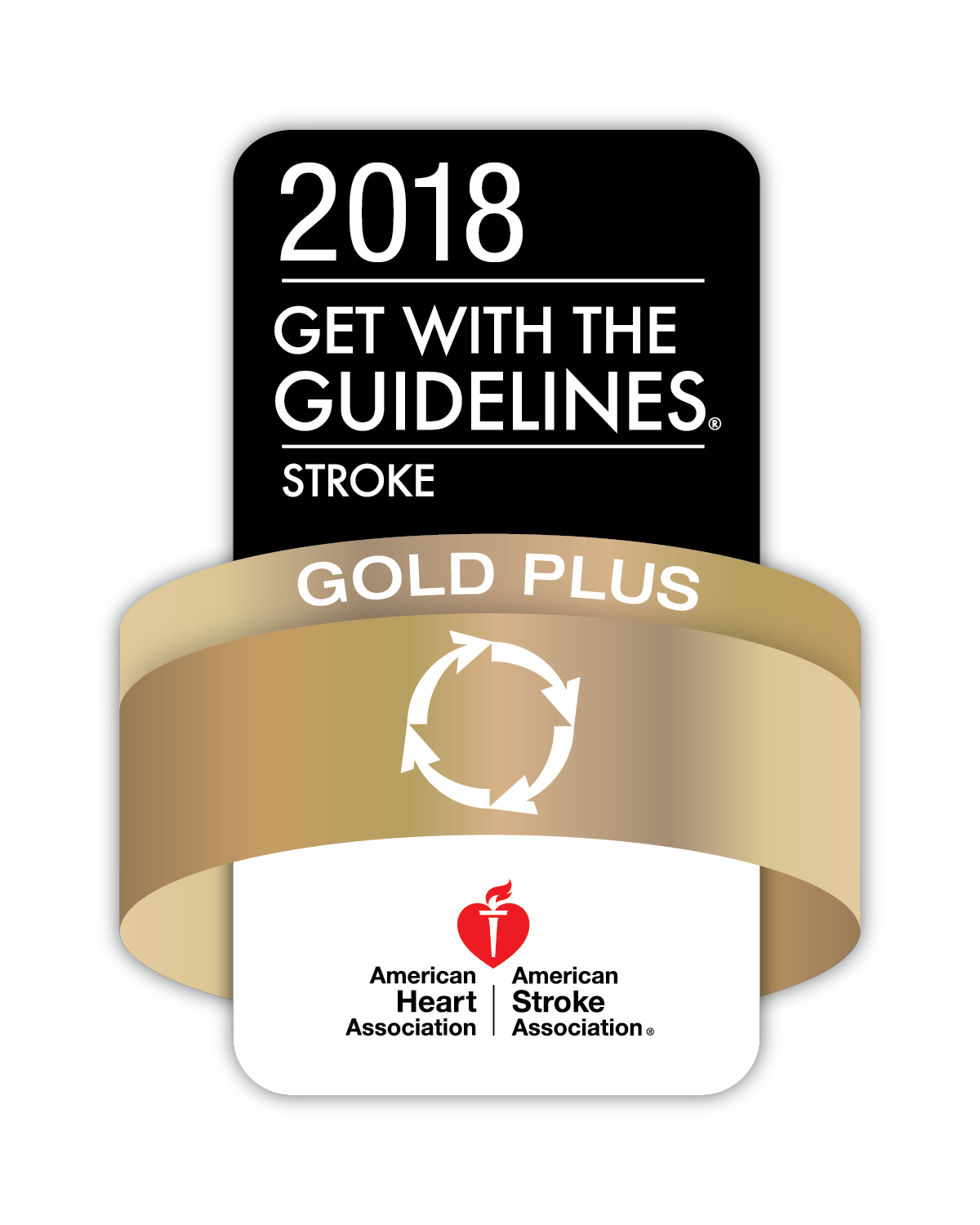 Fort Sanders Regional has received the American Heart Association/American Stoke Association's Get With The Guidelines®-Stroke Gold Plus Quality Achievement.