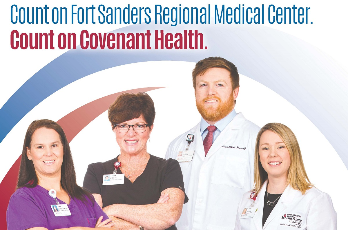Count on Fort Sanders Regional Medical Center. Count on Covenant Health.