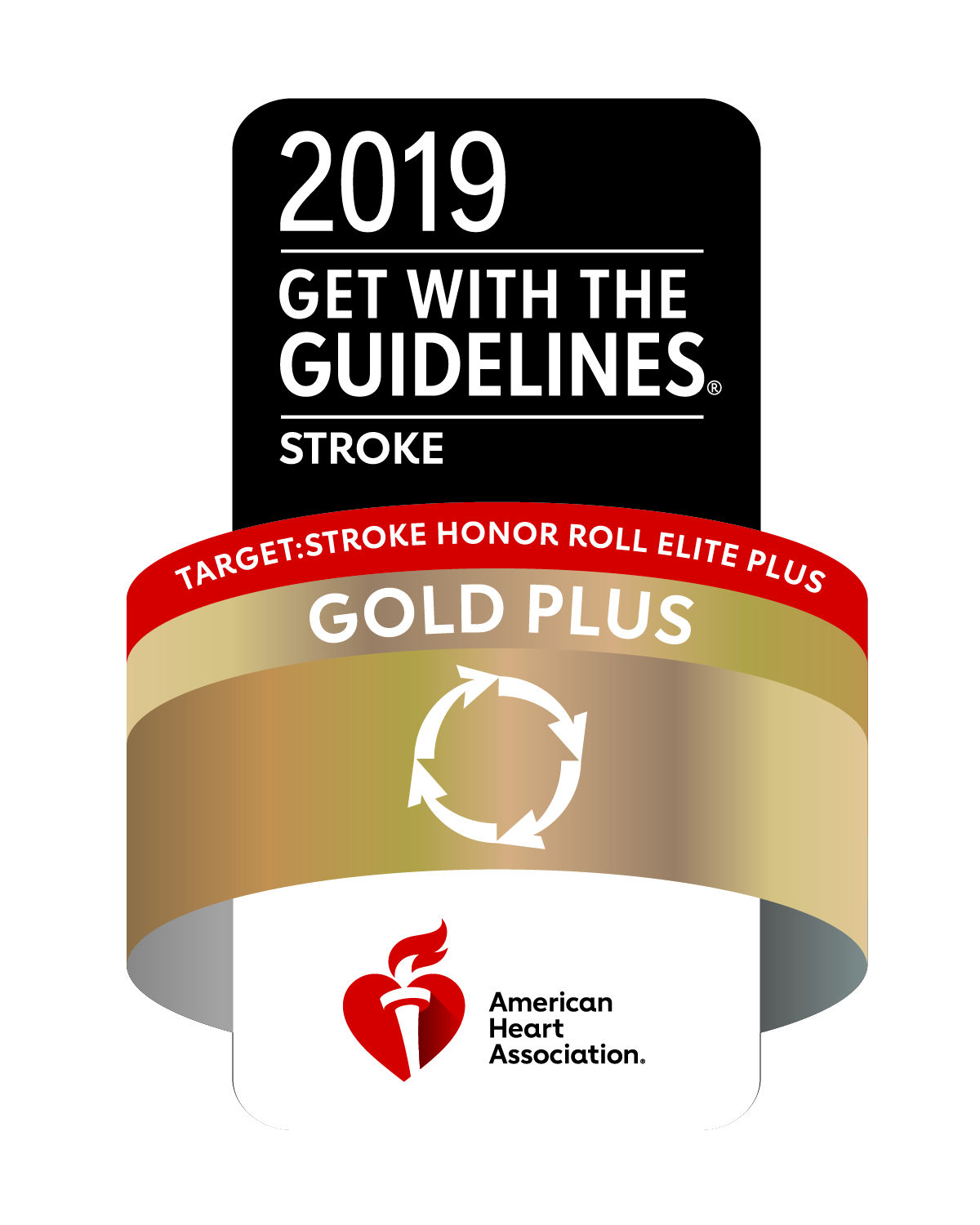 2019 Get with the Guidelines award logo