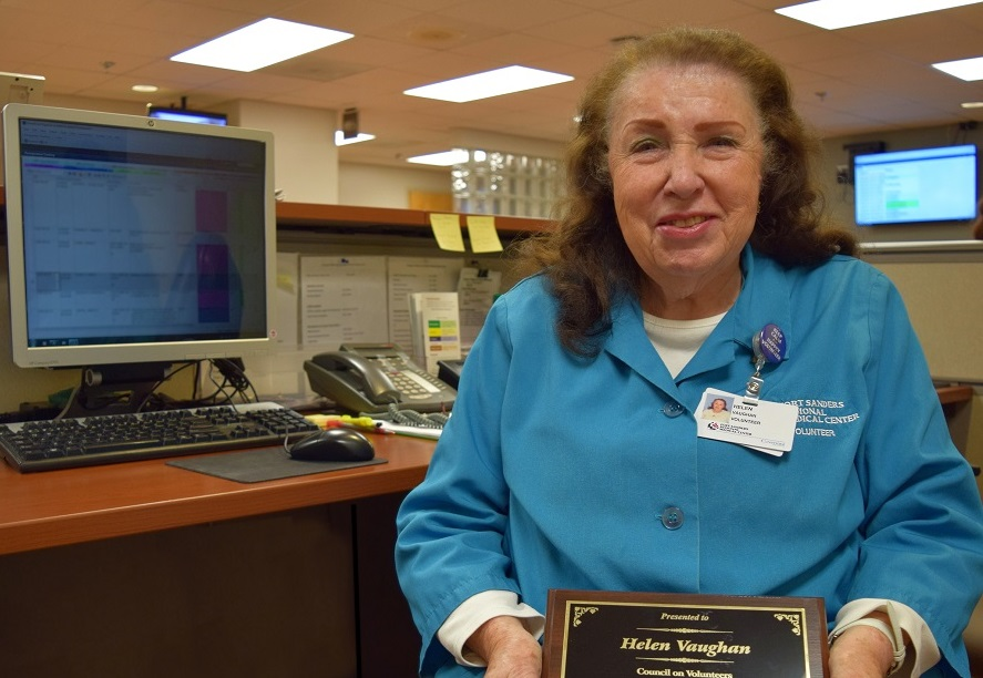 Tennessee Council on Volunteers Honors Retired FSRMC Nurse