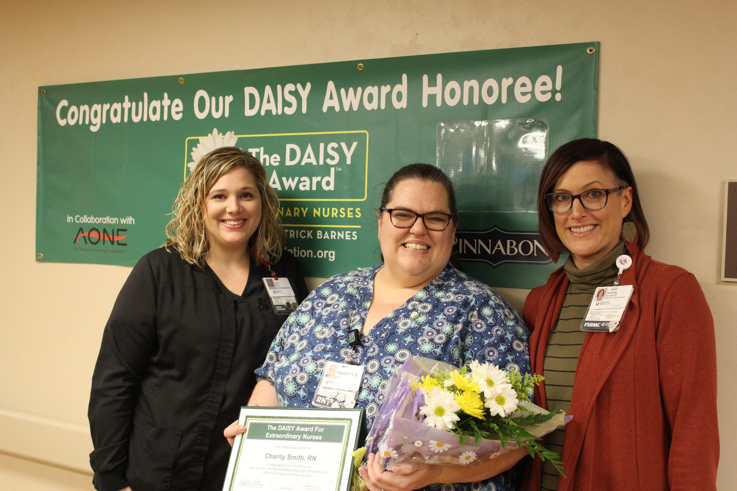 DAISY Award Winner – Charity Smith