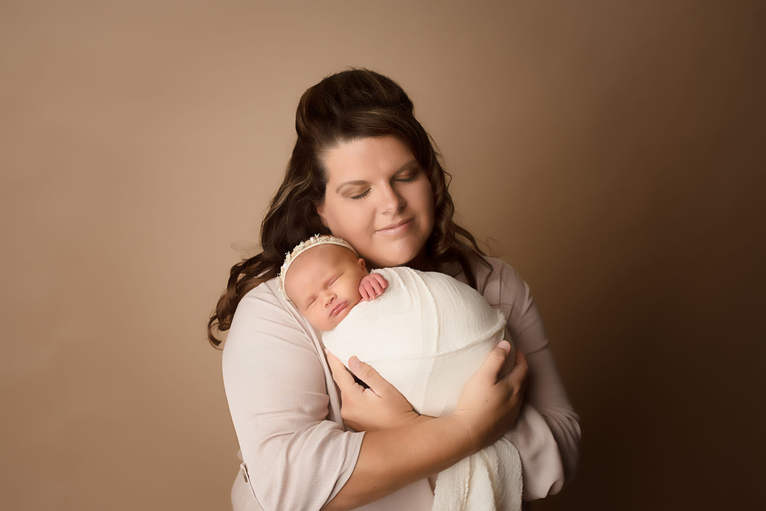 Danielle Rouse and her baby Ellie
