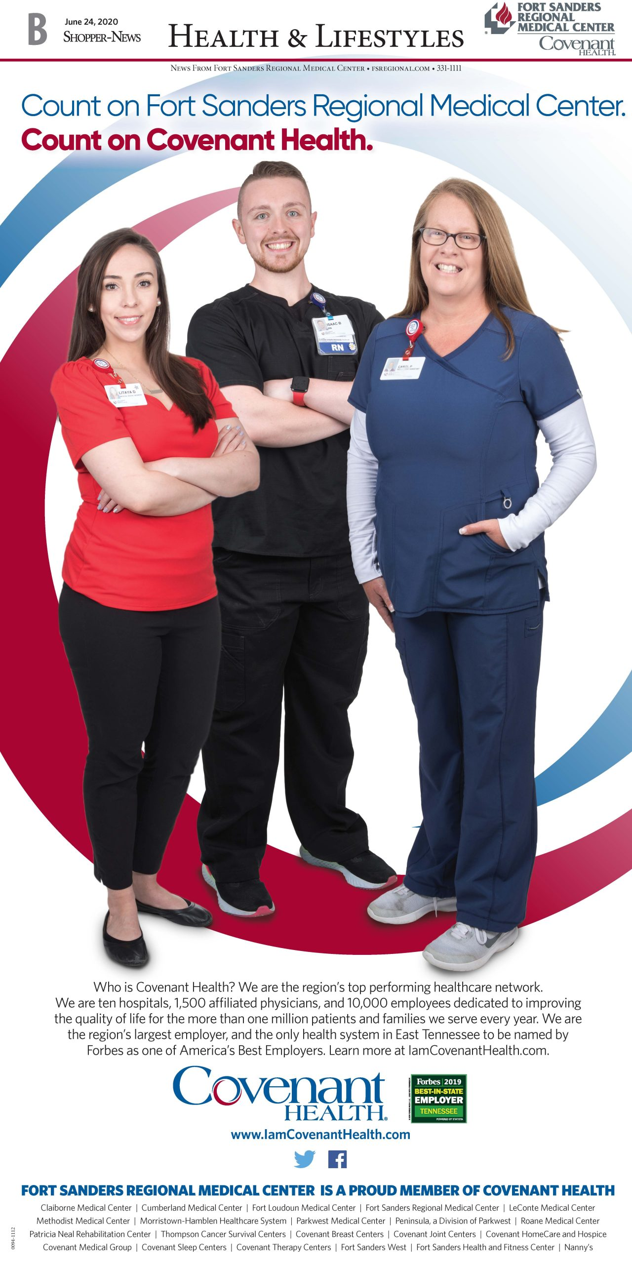 Count on Covenant Health