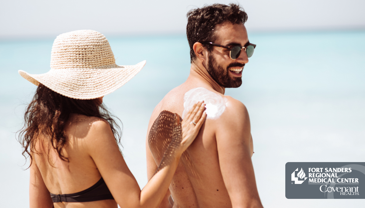 Lather Up and Cover Up To Avoid Skin Cancer